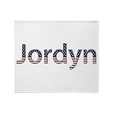 Jordyn Stars and Stripes Throw Blanket