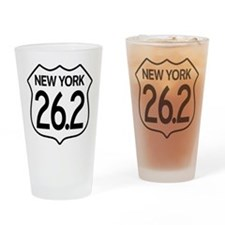 New York Marathon Drinking Glass