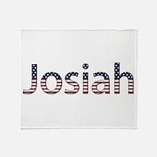 Josiah Stars and Stripes Throw Blanket