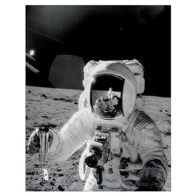 Apollo 12 Self Portrait Poster