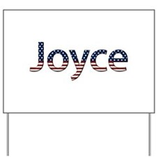 Joyce Stars and Stripes Yard Sign
