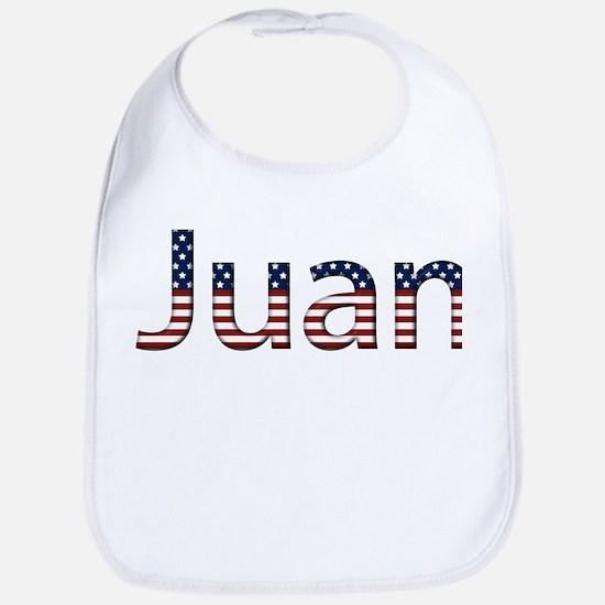 Juan Stars and Stripes Bib