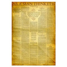 As a Man Thinketh Canvas Art