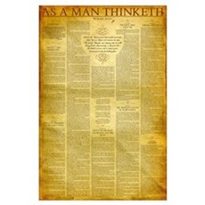 As a Man Thinketh Poster