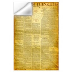 As a Man Thinketh Wall Decal