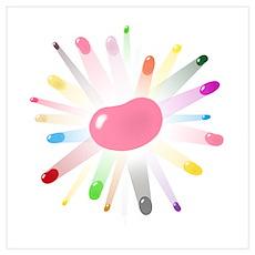 kids jellybean blowout Poster