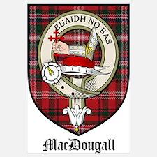 MacDougall Clan Crest Tartan
