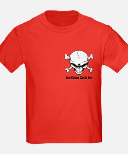 Pirate Skull with Custom Text T