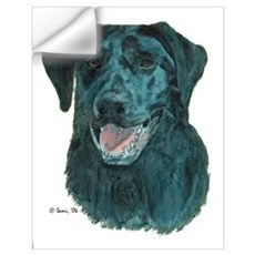 Dakota, the Black Lab Wall Decal