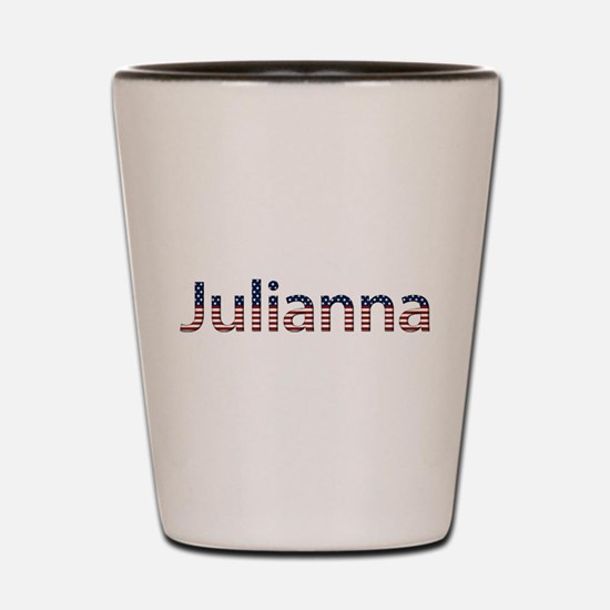 Julianna Stars and Stripes Shot Glass