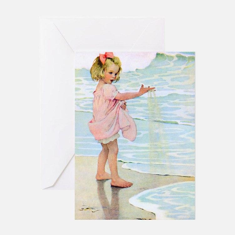 Seashore Greeting Card