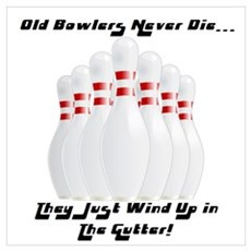Old Bowlers Poster