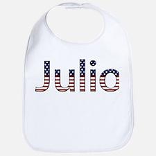 Julio Stars and Stripes Bib