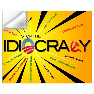 Idiocracy Wall Decal