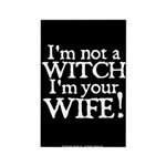 Witch Wife Princess Bride Rectangle Magnet