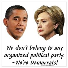 """Democratic Chaos!"" Poster"