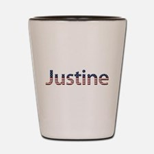 Justine Stars and Stripes Shot Glass