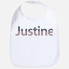 Justine Stars and Stripes Bib