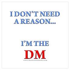 DM - Reason Poster