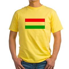 Hungary Hungarian Blank Flag T