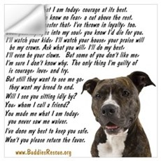 Only Thing, Pit Bull Wall Decal
