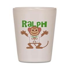 Little Monkey Ralph Shot Glass
