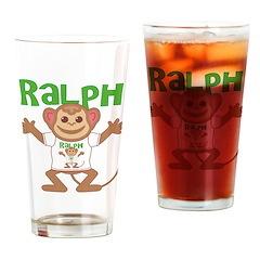 Little Monkey Ralph Drinking Glass