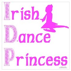 Irish Dance Princess Poster