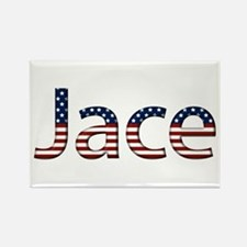 Jace Stars and Stripes Rectangle Magnet