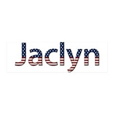 Jaclyn Stars and Stripes 42x14 Wall Peel