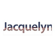 Jacquelyn Stars and Stripes 42x14 Wall Peel