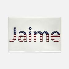 Jaime Stars and Stripes Rectangle Magnet