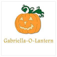 Gabrielle-O-Lantern Poster