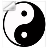 Yin yang Wall Decals