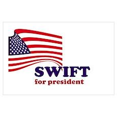 Kat Swift for president Poster