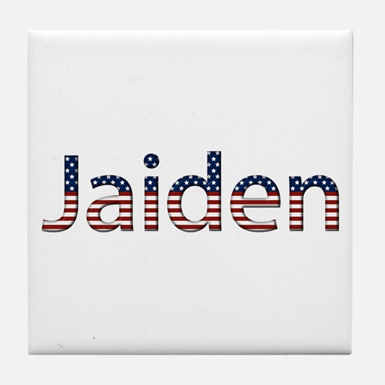 Jaiden Stars and Stripes Tile Coaster
