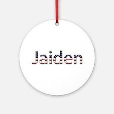 Jaiden Stars and Stripes Round Ornament