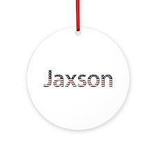 Jaxson Stars and Stripes Round Ornament