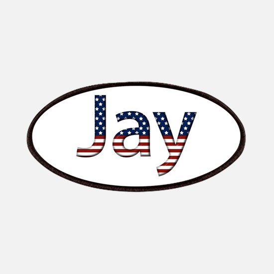 Jay Stars and Stripes Patch