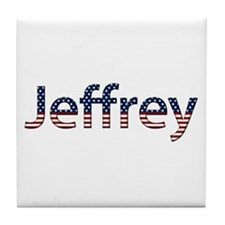 Jeffrey Stars and Stripes Tile Coaster