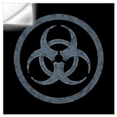 Biohazard Symbol Wall Decal