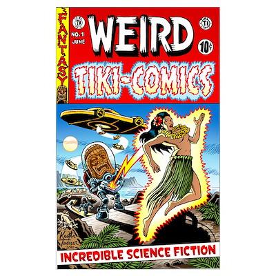 Weird Tiki Comics #1 Poster