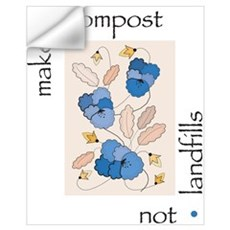 Make Compost, Not Landfills Wall Decal