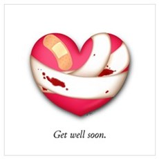 Get Well Soon Canvas Art