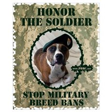 Honor the Soldier Canvas Art