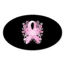 Pink Love Swirls Bumper Stickers