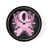 Run pink Wall Clocks