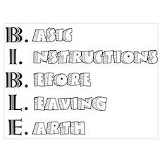 LG - B.I.B.L.E. Poster