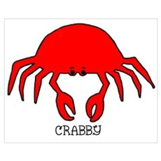 Crabby Poster