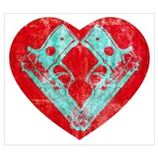 Spunk Ransom Heart (red) Poster